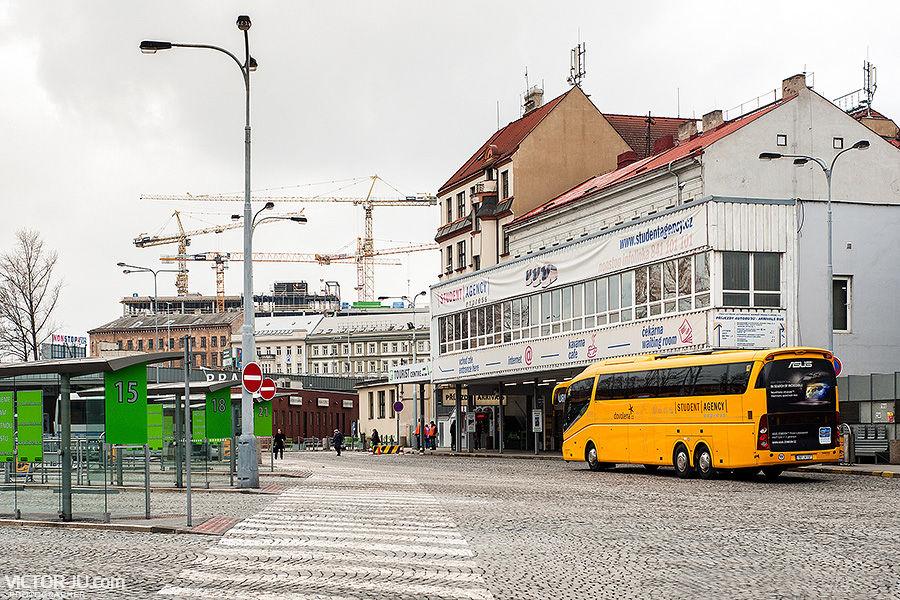 Автобусный вокзал Florenc, Прага