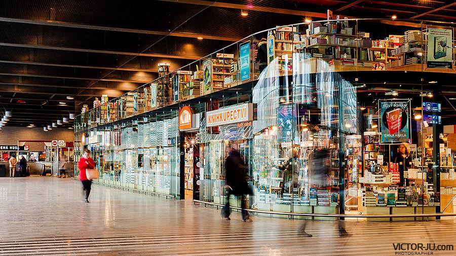 Магазины главный вокзал в Праге