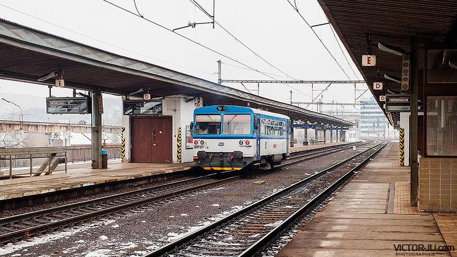 Железнодорожный вокзал в Праге - Nádraží Holešovice