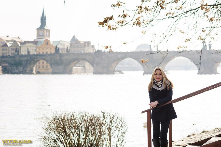 Фотосессия в Праге Карлов мост