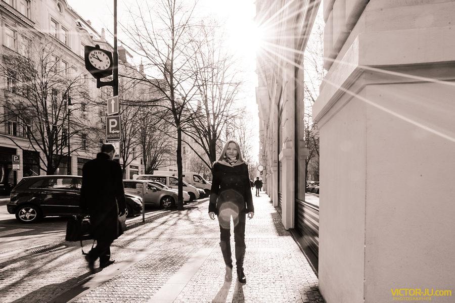 Красивая фотосессия в Праге