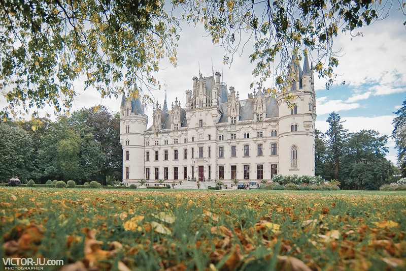 Замок Château de Challain, Франция