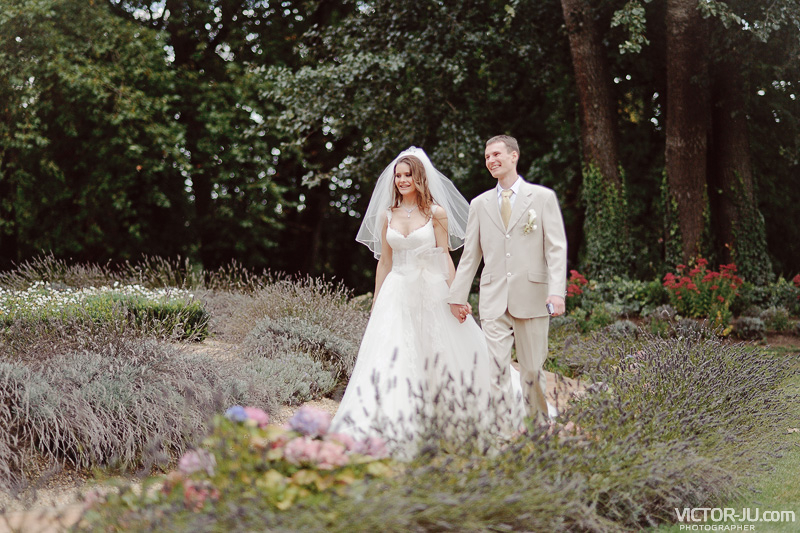 Свадьба во Франции - Молодожены Ярослав и Екатерина