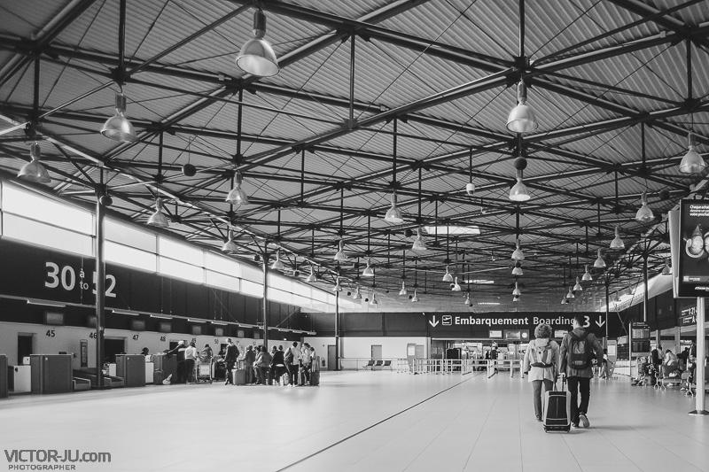 Аэропорт Шарль де Голль, Париж, Франция