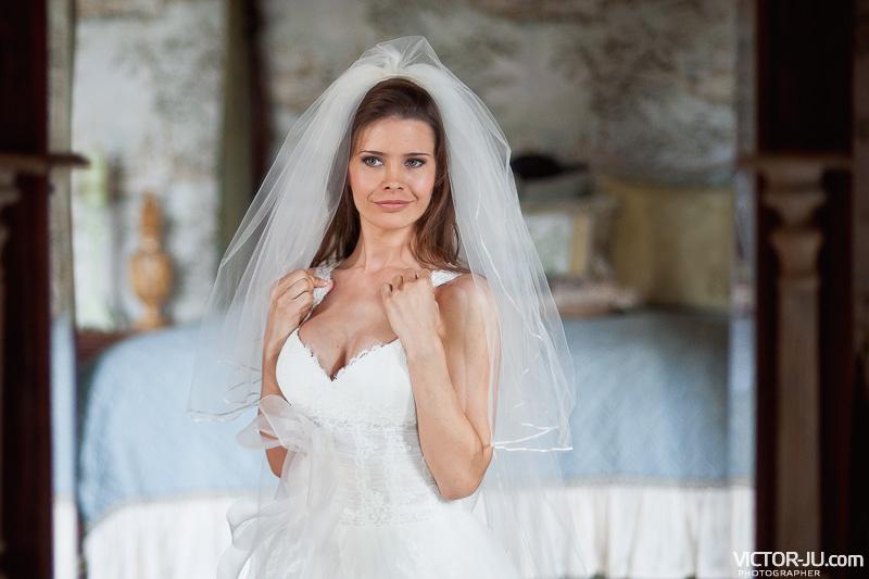 Невеста Екатерина - свадьба во Франции