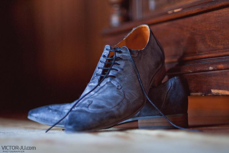 Свадебные туфли жениха
