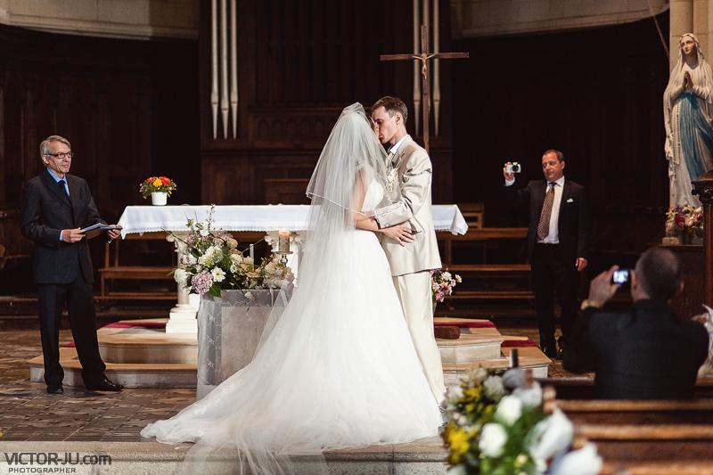 Венчание Ярослава и Екатерины во Франции
