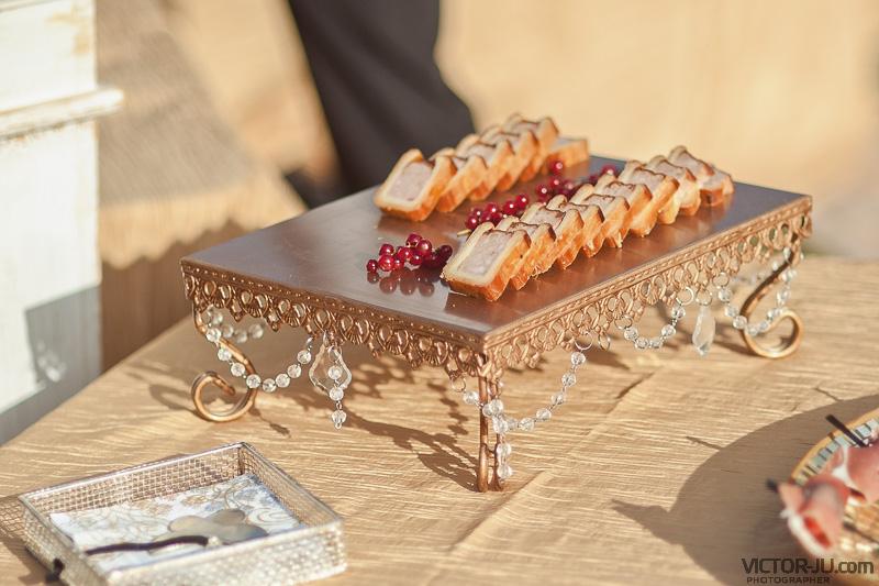 Закуски на свадьбе во Франции