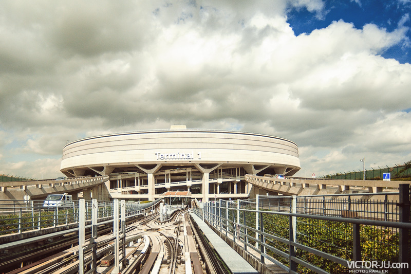 Терминал аэропорта Шарль де Голль, Франция