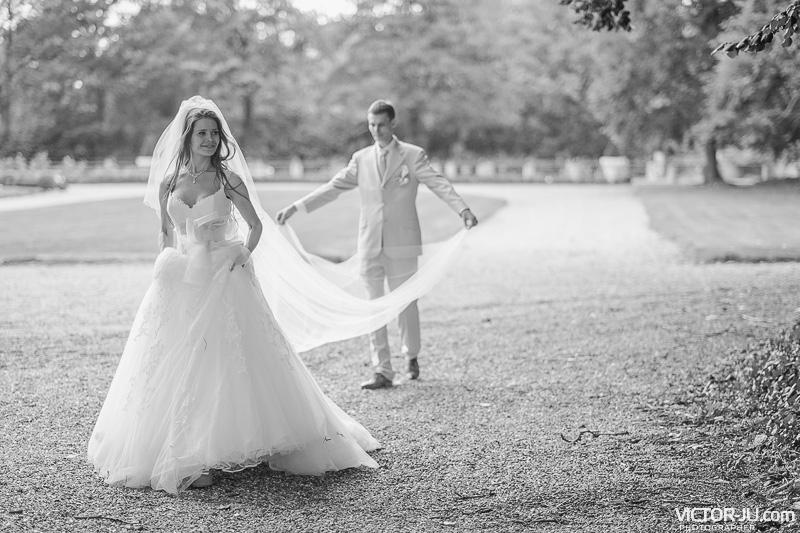 Свадебное фото Екатерины и Ярослава во Франции