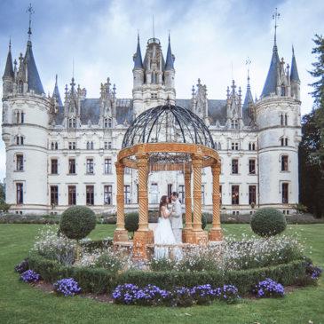 Свадьба во Франции — замок Château de Challain