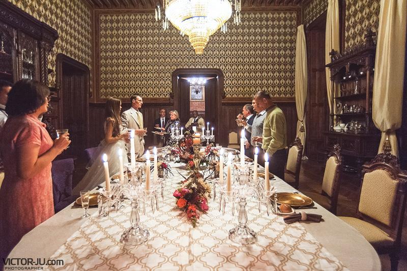 Свадебный ужин во Франции