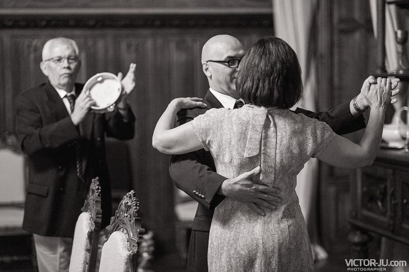 Танцы на французской свадьбе