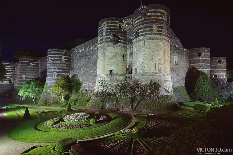 Замок в Анже, Франция