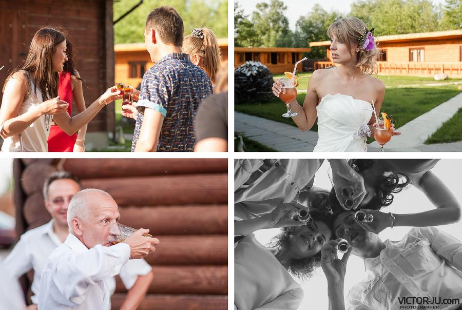 Свадебные коктейли фото