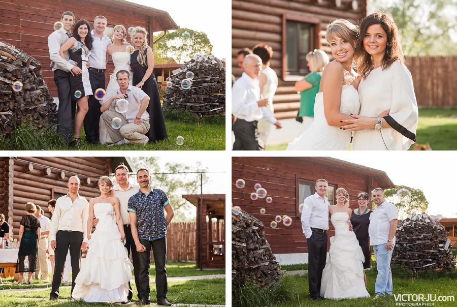 Свадебные фотографии с гостями идеи