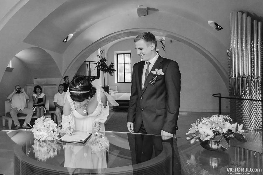 Регистрация брака в Праге