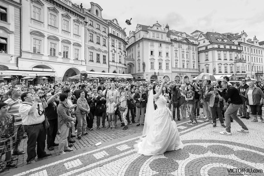 Свадьба в Праге на Староместской площади