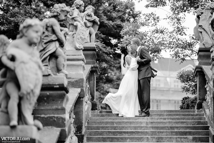 Свадебное фото в Праге