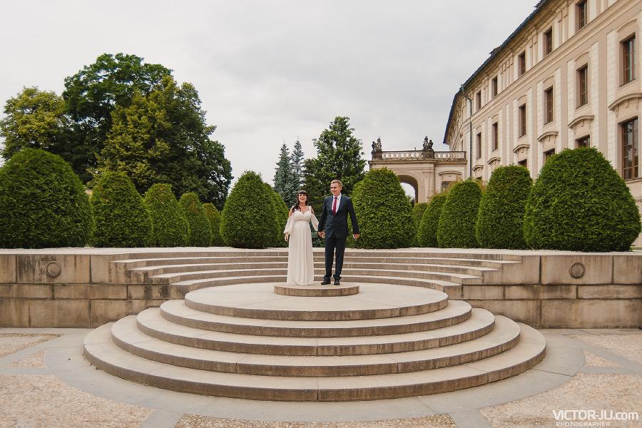 Свадебная фотография в Праге