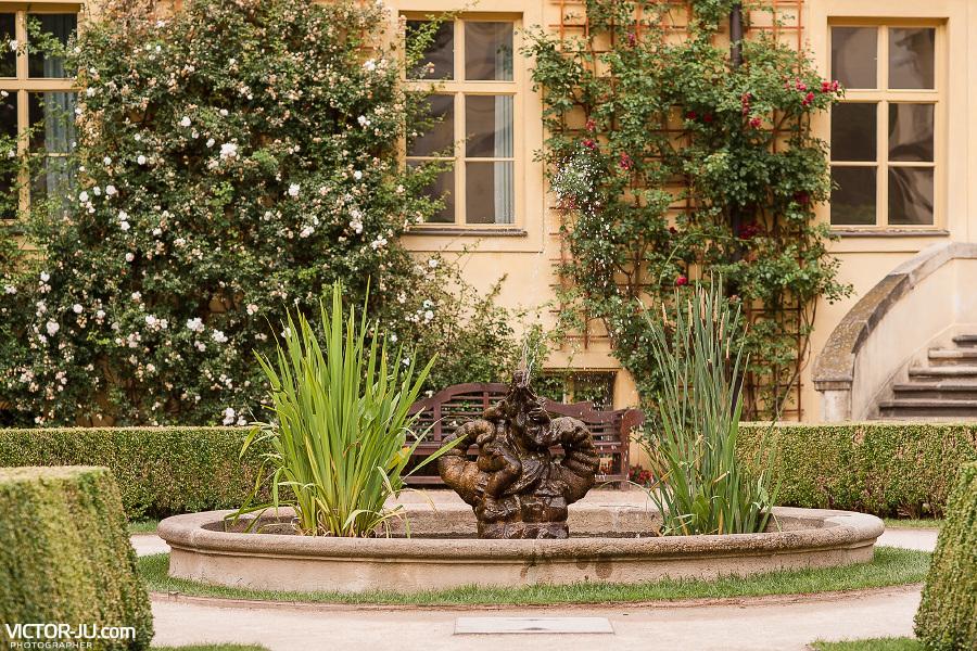 Вртбовские сады в Праге