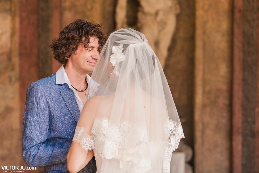 Трогательная свадьба в Чехии