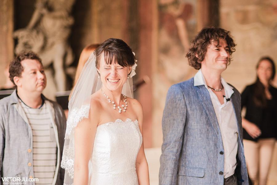 Жених и невеста в Праге