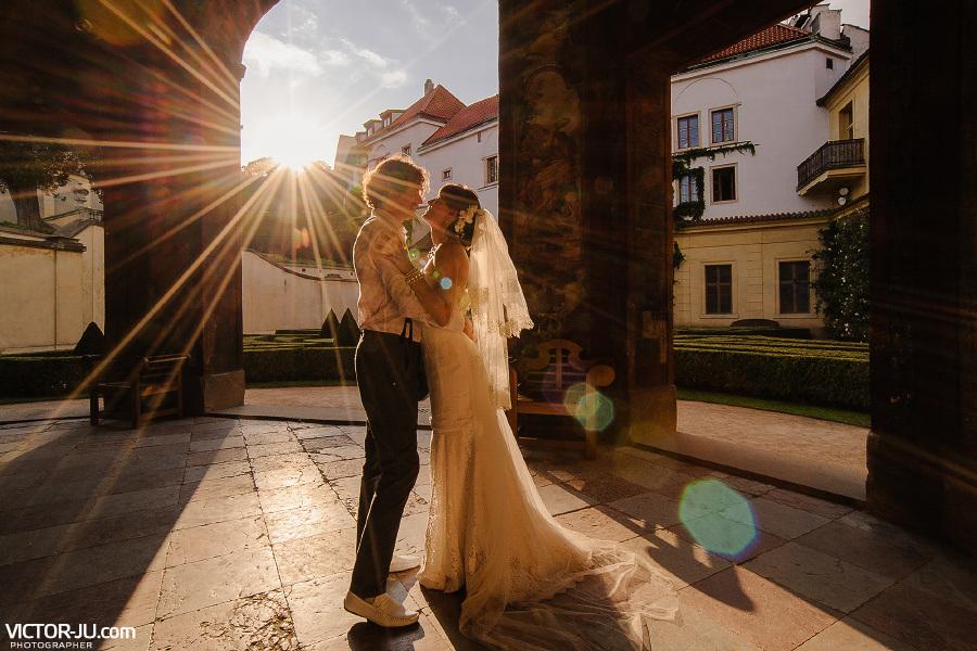Речь невесты жениху в Праге