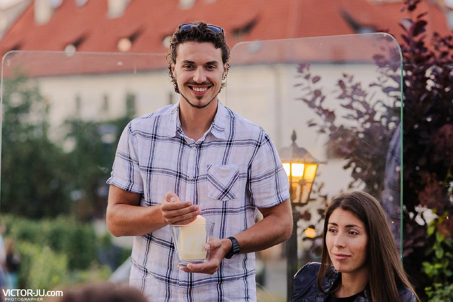 Поздравление гостей на свадьбе в Чехии