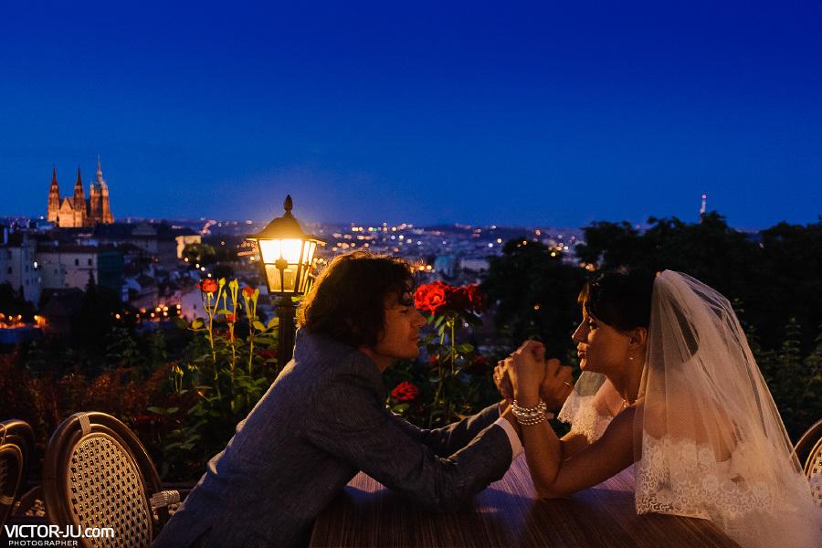 Романтический ужин в Праге фото