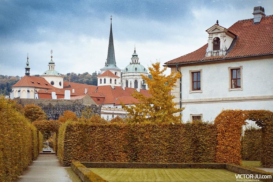 Осень в Праге фото