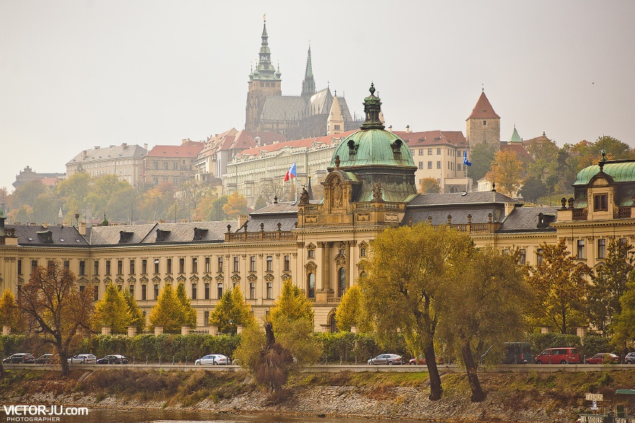 Осенняя прогулка в Праге с фотографом