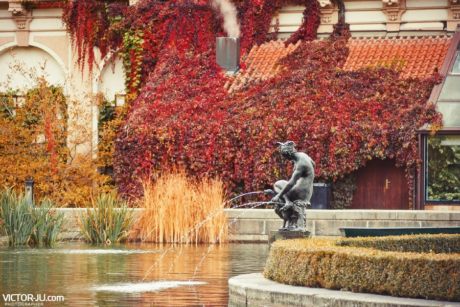 Прага осенью фото