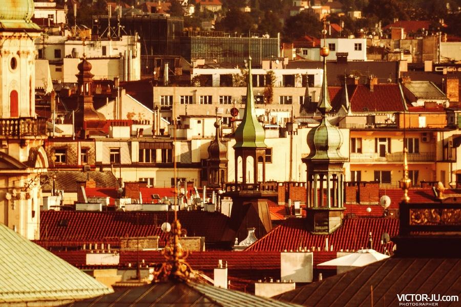 Стобашенная красавица Прага фото