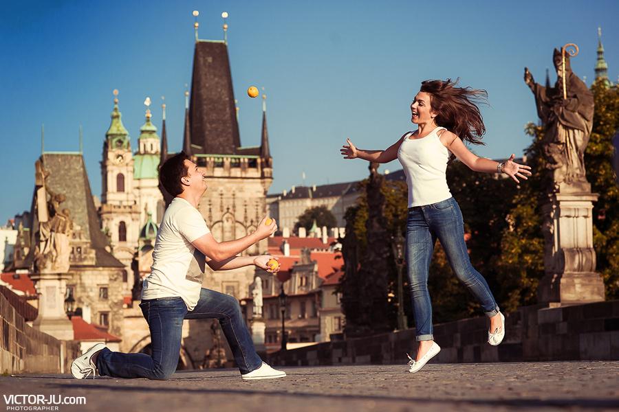 Романтическая love story в Праге