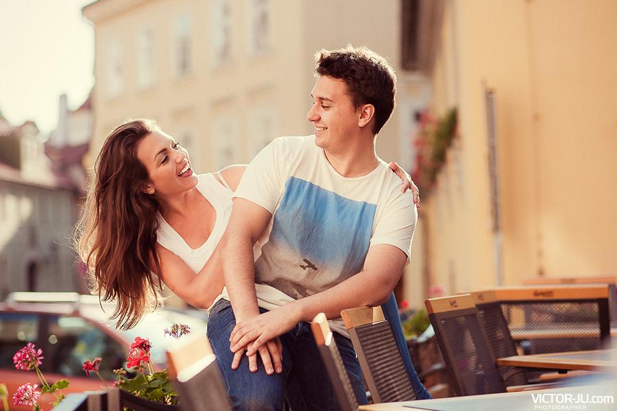 Love Story от фотографа в Праге Виктора Здвижкова