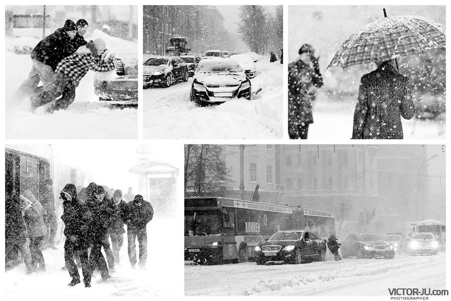 Циклон Хавьер сплотил белорусов