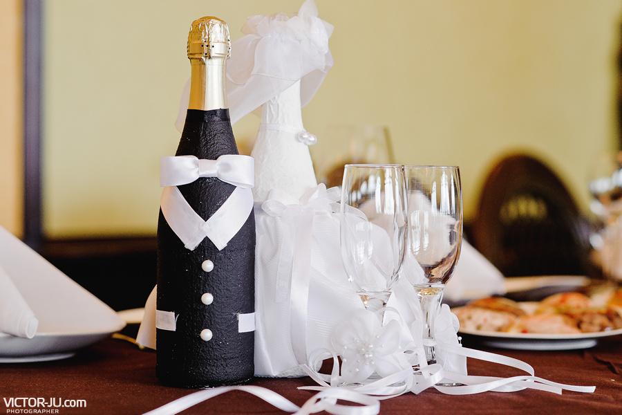 Необычные украшения на свадьбе