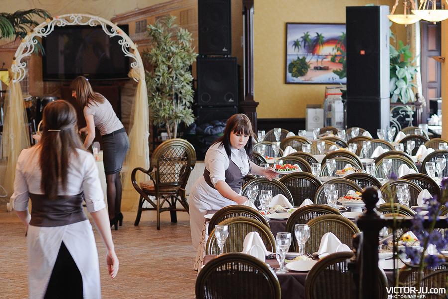Интерьер ресторана Варадео в Минске