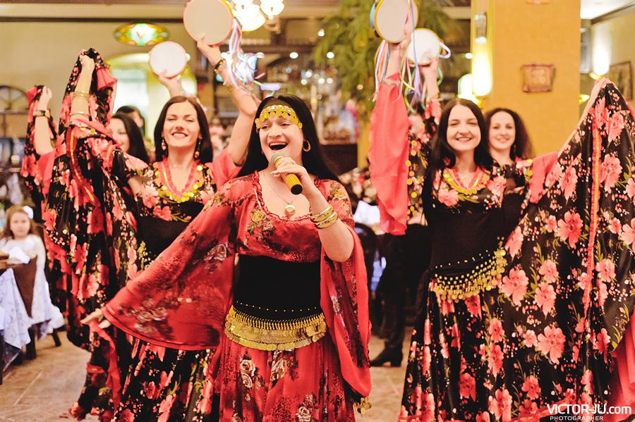 Цыганский коллектив в Минске на свадьбе