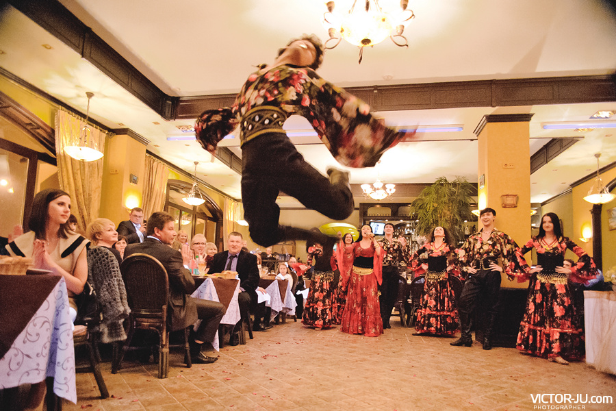 Шоу на свадьбе в Минске