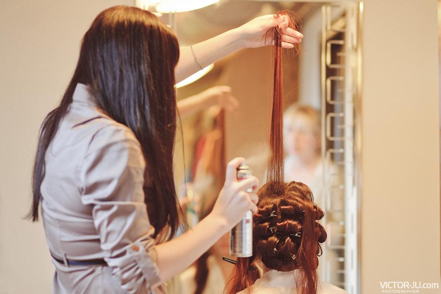 Услуги парикмахера на свадьбу