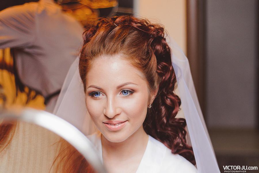 Утро невесты макияж