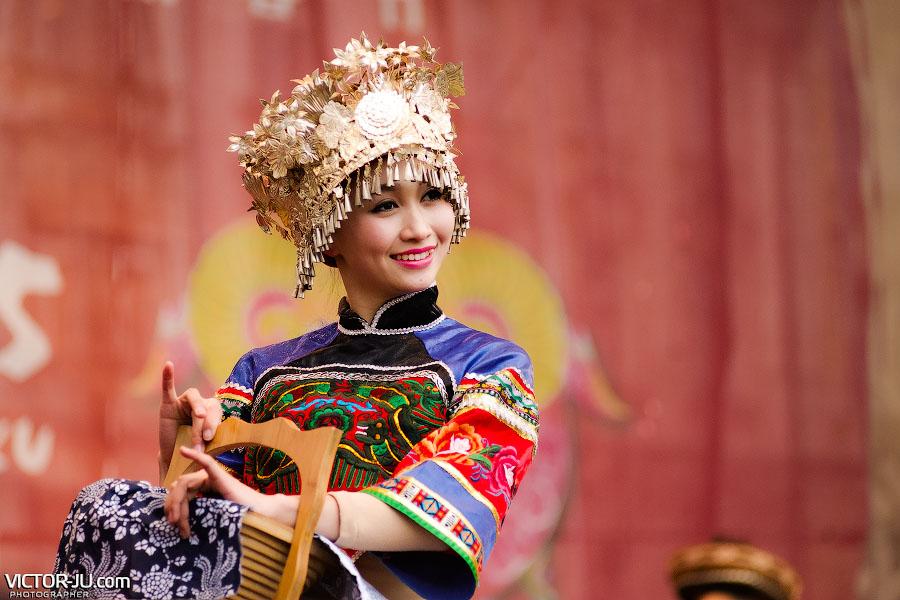 Артисты из Китая в Праге