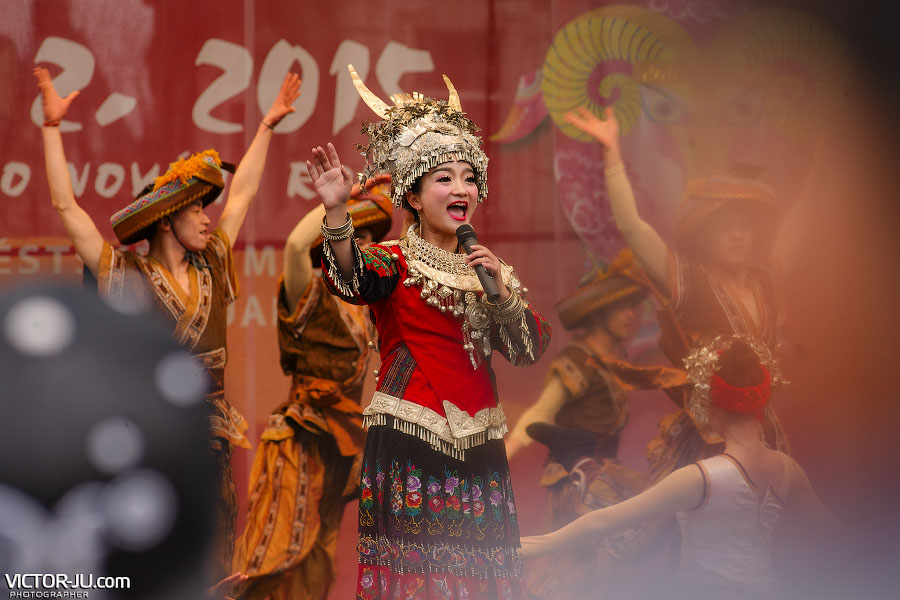 Китайские песни на Староместской площади