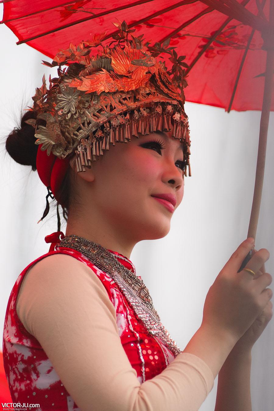Китайская женщина