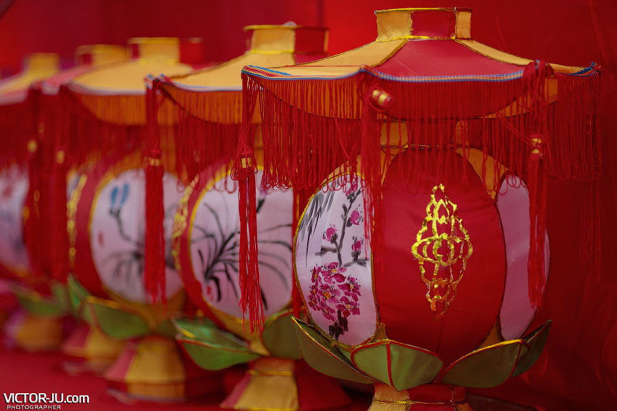 Китайские новогодние фонари