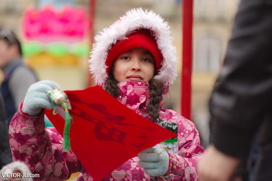 Красные свитки на китайский новый год