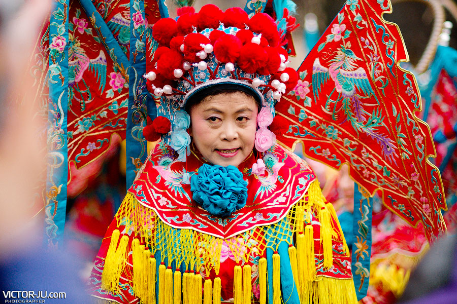 Артисты из Китая в Праге на Новый год
