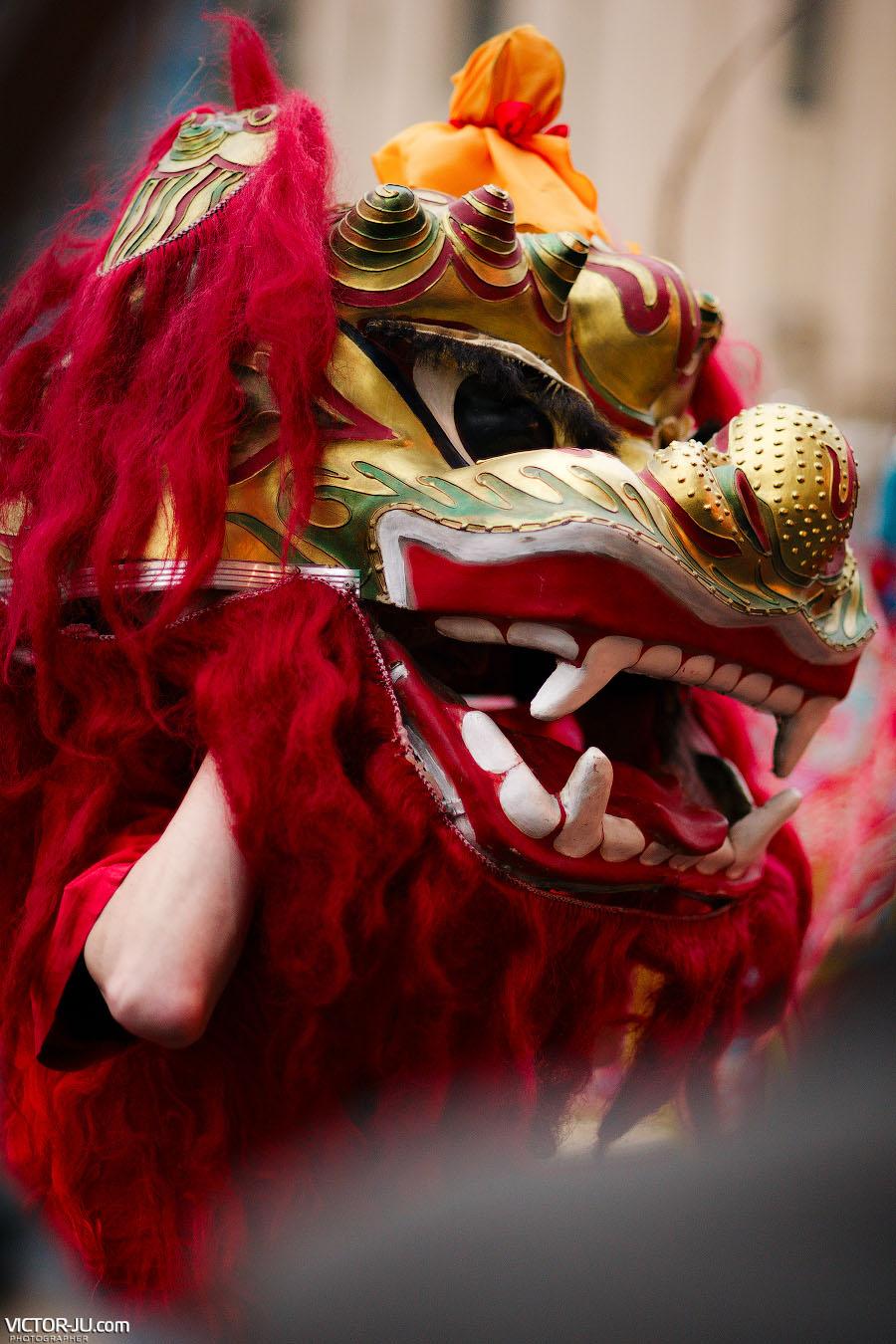 Маска дракона Китай